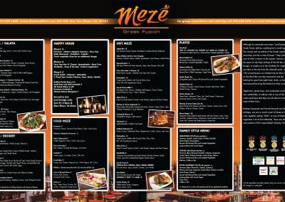 Meze Menu Board