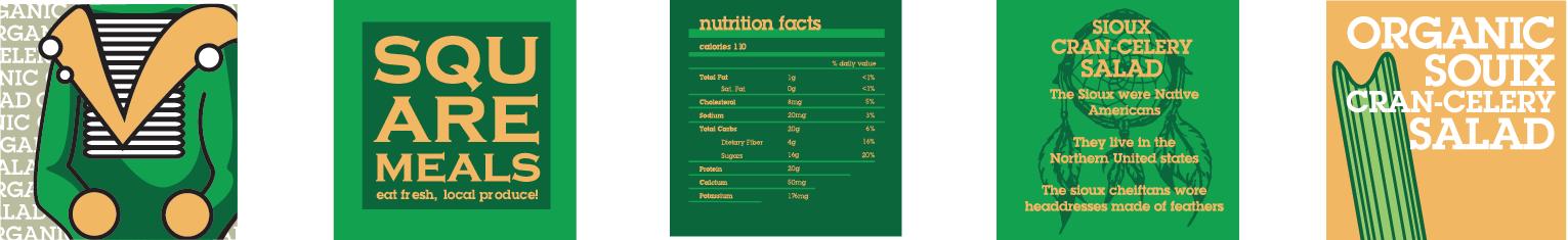 Organic Souix Cran-Celery Salad